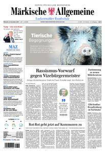Märkische Allgemeine Luckenwalder Rundschau - 08. November 2017