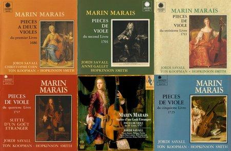 Marin Marais - Suites pour Viole de Gambe (Jordi Savall)