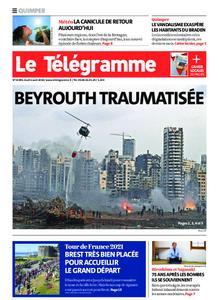 Le Télégramme Quimper – 06 août 2020