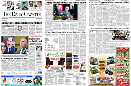 The Daily Gazette – December 16, 2017