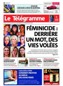 Le Télégramme Brest – 25 novembre 2019