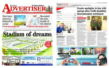The Herts Advertiser – March 29, 2018