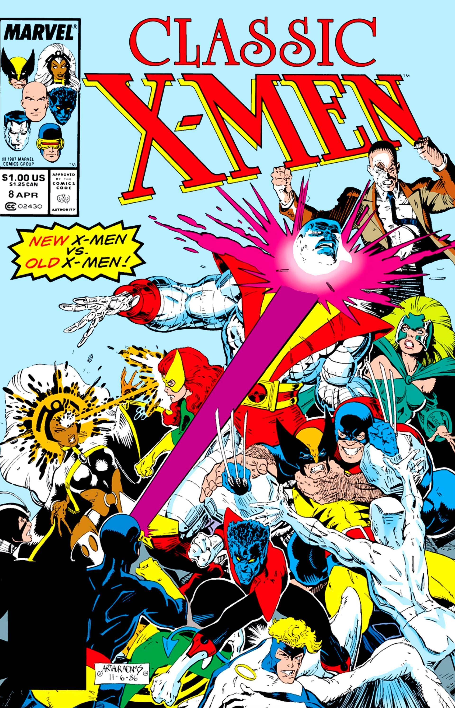 Classic X-Men 008 1987 digital Glorith-Novus-HD