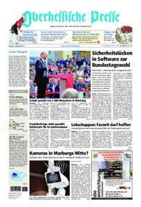 Oberhessische Presse Marburg/Ostkreis - 08. September 2017