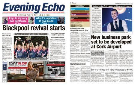 Evening Echo – October 25, 2017