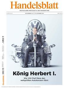 Handelsblatt - 16. November 2018
