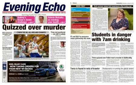 Evening Echo – January 23, 2019