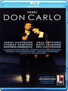 Antonio Pappano, Wiener Philharmoniker, Anja Harteros, Jonas Kaufmann - Verdi: Don Carlo (2014) [Blu-Ray]