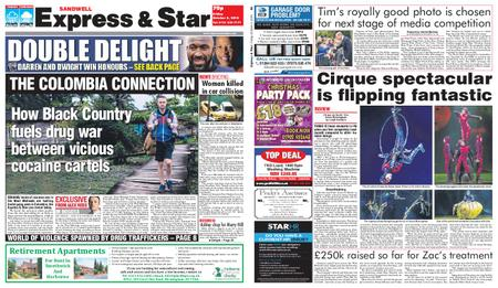 Express and Star Sandwell Edition – October 05, 2018