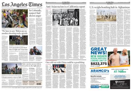 Los Angeles Times – March 24, 2021