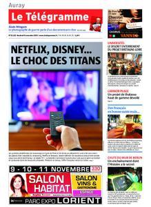Le Télégramme Auray – 08 novembre 2019