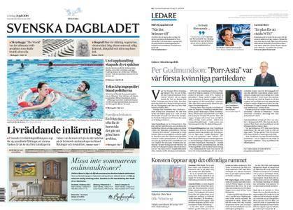 Svenska Dagbladet – 21 juli 2018