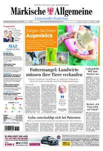 Märkische Allgemeine Luckenwalder Rundschau - 21. Juli 2018