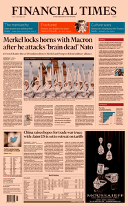 Financial Times Europe – 08 November 2019