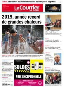Le Courrier de l'Ouest Nord Anjou – 09 janvier 2020