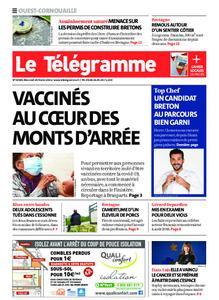 Le Télégramme Ouest Cornouaille – 24 février 2021