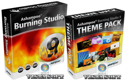 Ashampoo Burning Studio 9.12 + Theme Pack 1.0