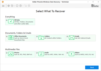 Stellar Phoenix Windows Data Recovery Technician 7.0.0.3 Portable