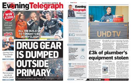Evening Telegraph First Edition – November 08, 2019