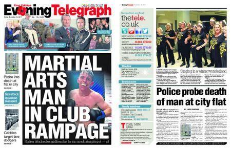 Evening Telegraph First Edition – November 10, 2017