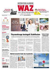 WAZ Westdeutsche Allgemeine Zeitung Oberhausen-Sterkrade - 30. Juni 2018
