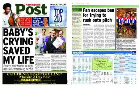 Nottingham Post – September 12, 2017