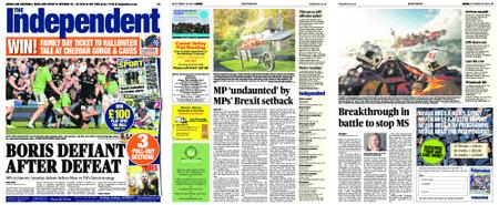 Sunday Independent Cornwall – October 20, 2019