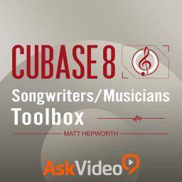 AskVideo - Cubase 8 102: Songwriters/Musicians Toolbox