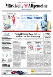 Märkische Allgemeine Prignitz Kurier - 11. November 2017
