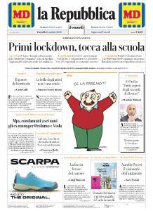 la Repubblica - 16 Ottobre 2020
