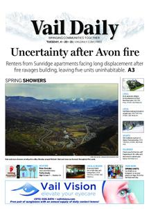 Vail Daily – April 20, 2021