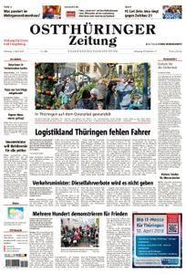 Ostthüringer Zeitung Greiz - 03. April 2018