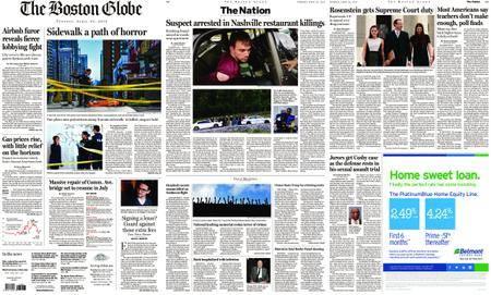The Boston Globe – April 24, 2018