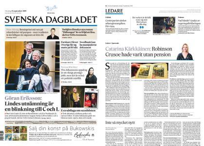 Svenska Dagbladet – 11 september 2019