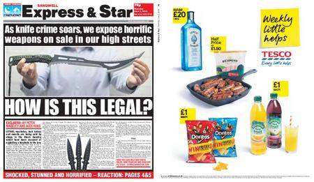 Express and Star Sandwell Edition – June 07, 2018