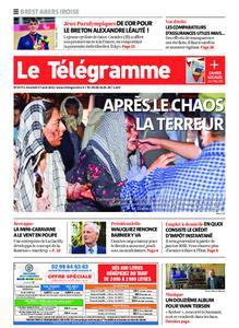 Le Télégramme Brest Abers Iroise – 27 août 2021