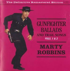 Marty Robbins - Gunfighter Ballads And Trail Songs (1959) & More Gunfighter Ballads And Trail Songs (1960) (2on1 rel 2012)