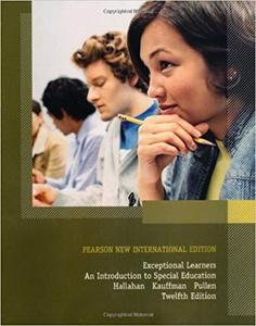 Exceptional Learners: Pearson New International Edition: An Introduction to Special Education [Repost]