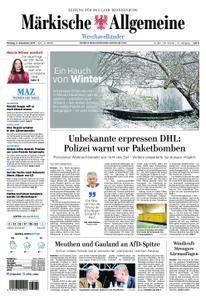 Märkische Allgemeine Westhavelländer - 04. Dezember 2017