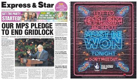 Express and Star City Edition – December 14, 2019