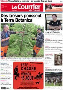 Le Courrier de l'Ouest Angers - 13 août 2018