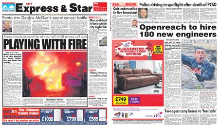 Express and Star City Edition – January 28, 2019