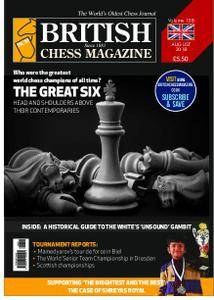 British Chess Magazine – August 2018