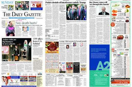 The Daily Gazette – November 12, 2017