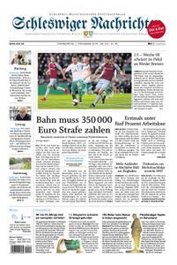 Schleswiger Nachrichten - 01. November 2018