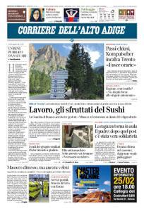 Corriere dell'Alto Adige – 20 febbraio 2019