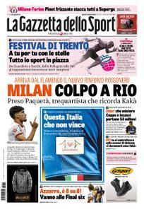 La Gazzetta dello Sport – 11 ottobre 2018