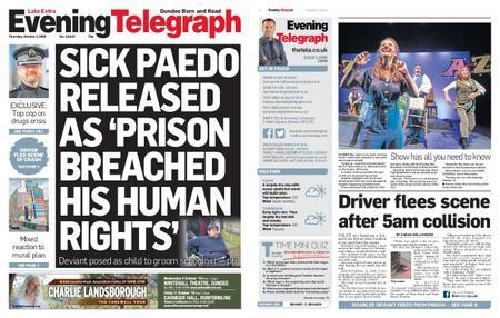 Evening Telegraph First Edition – October 03, 2019