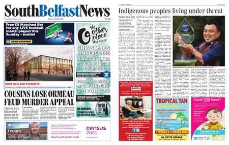 South Belfast News – October 03, 2019