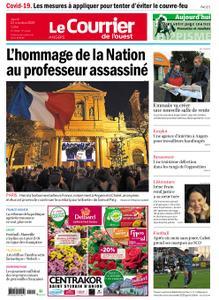 Le Courrier de l'Ouest Angers – 22 octobre 2020
